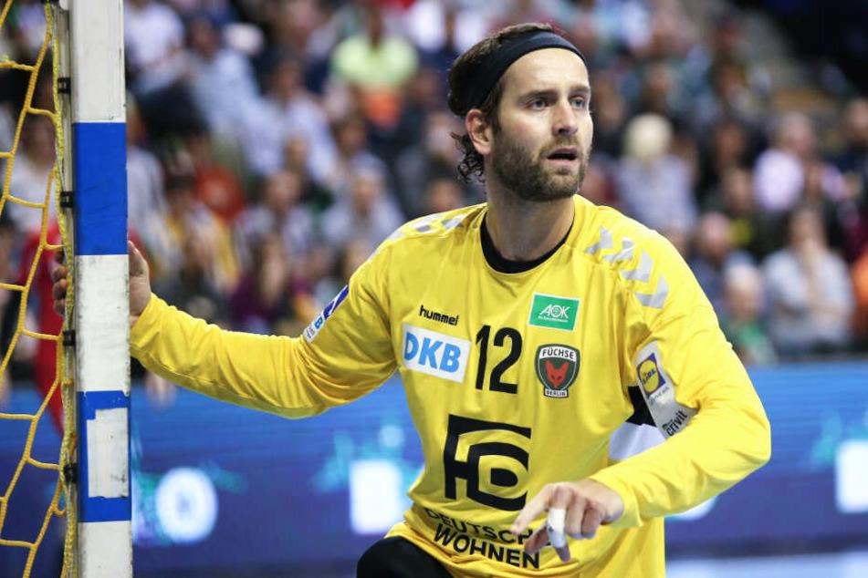 Zum ersten Mal in einer Talkshow: Handball-Star und Freund von Thomalla-Freund Silvio Heinevetter (34).