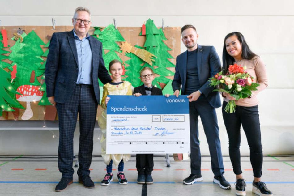 Dresden: Vonovia verschenkt Geld an Dresdner Vereine