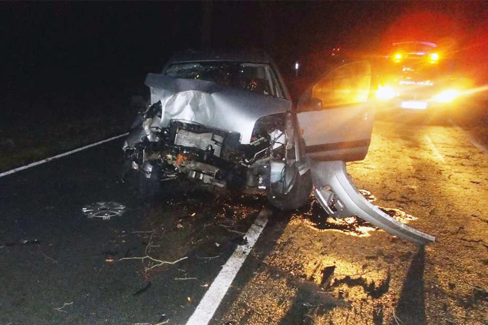 In einer Kurve kam ein 20-Jähriger von der Straße ab.