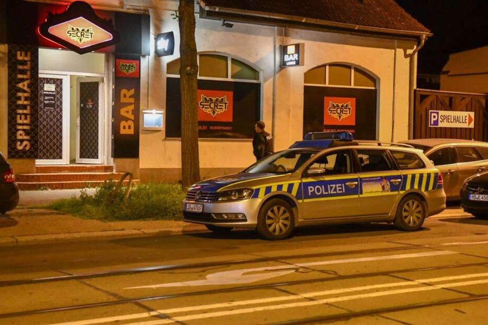 Am Freitagabend wurde diese Spielhalle in Magdeburg-Fermersleben überfallen.