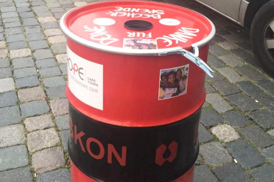 Spendentonnen aufgebrochen! Dreiste Diebe gehen beim Dresdner Stadtfest auf Beutezug