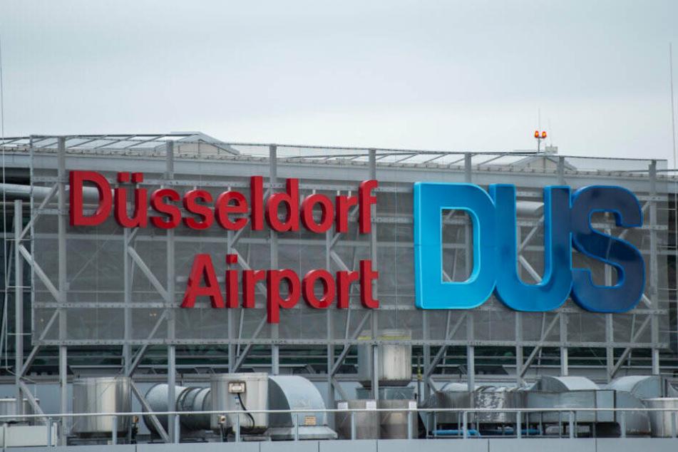 Der Flughafen Düsseldorf. Hier will Kötter frühzeitig aussteigen.