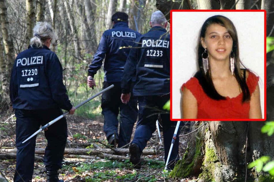 In einem Waldgebiet bei Brieselang suchte die Polizei nach Spuren der vermissten Schülerin.