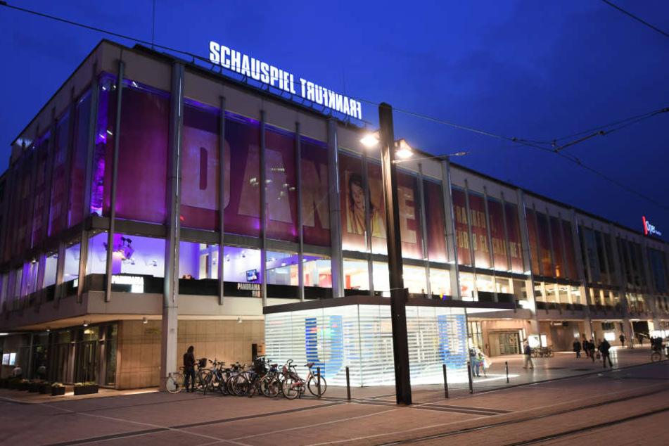 Dem Warnstreik fielen zwei Vorstellungen des Schauspiel Frankfurt zum Opfer.