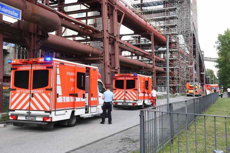 Mehrere Rettungswagen eilten zur Unfallstelle.