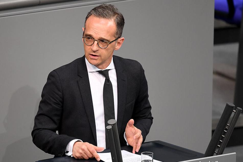 Heiko Maas (52, SPD).