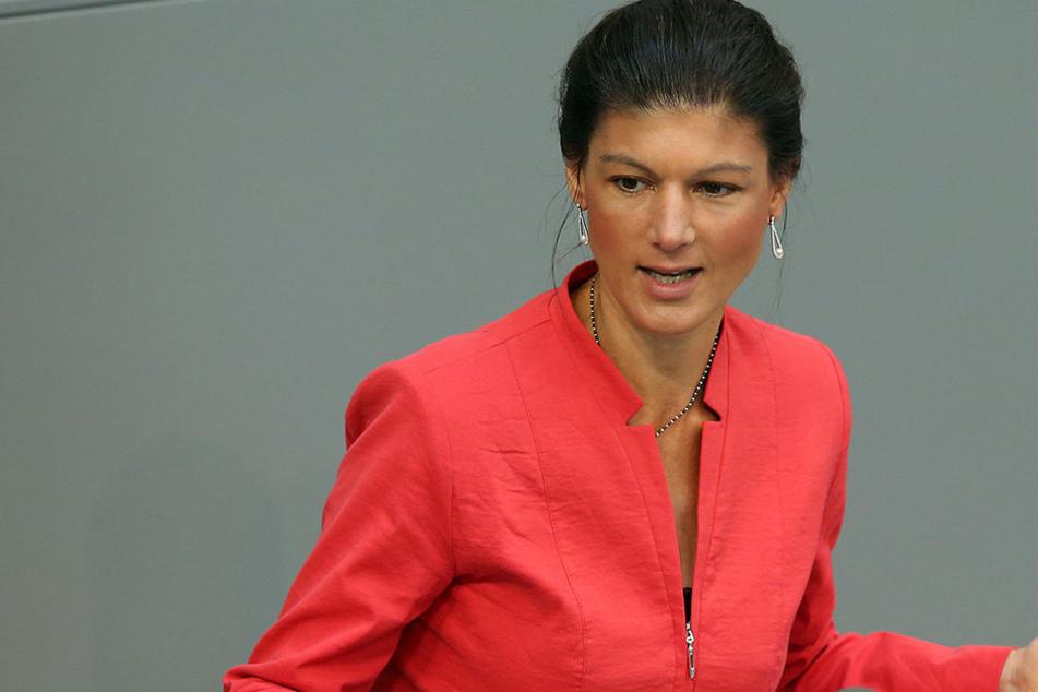 Sahra Wagenknecht (47) von den Linken...