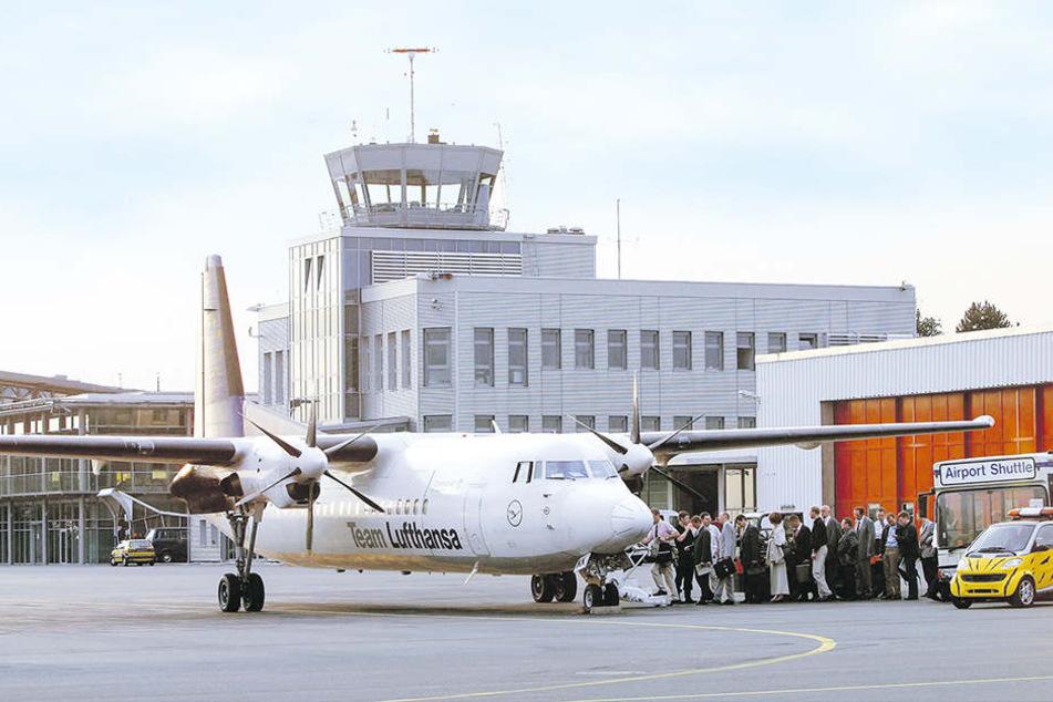 Der Gebetsraum am Flughafen Paderborn/Lippstadt hat für alle Muslime Tag und Nacht geöffnet.