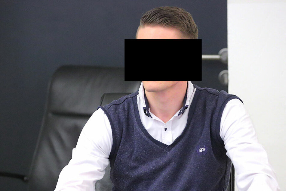 Valentin E. (22) sitzt seit Mai 2018 in Haft. Er soll in Coswig mit massenhaft Marihuana gehandelt haben.