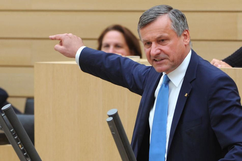 Rülke fordert, dass Strobl zurücktritt, da er seiner Auffassung nach Pannen vertuscht habe. (Archiv)