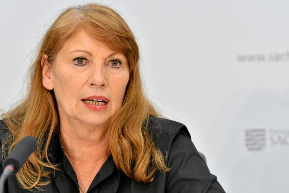 """Sachsens Gesundheitsministerin Petra Köpping warnt vor """"Panikmache""""."""