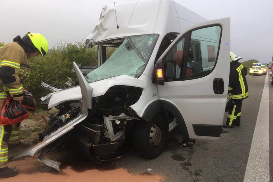 7 Menschen mussten nach dem Unfall in die umliegenden Krankenhäuser gebracht werden.