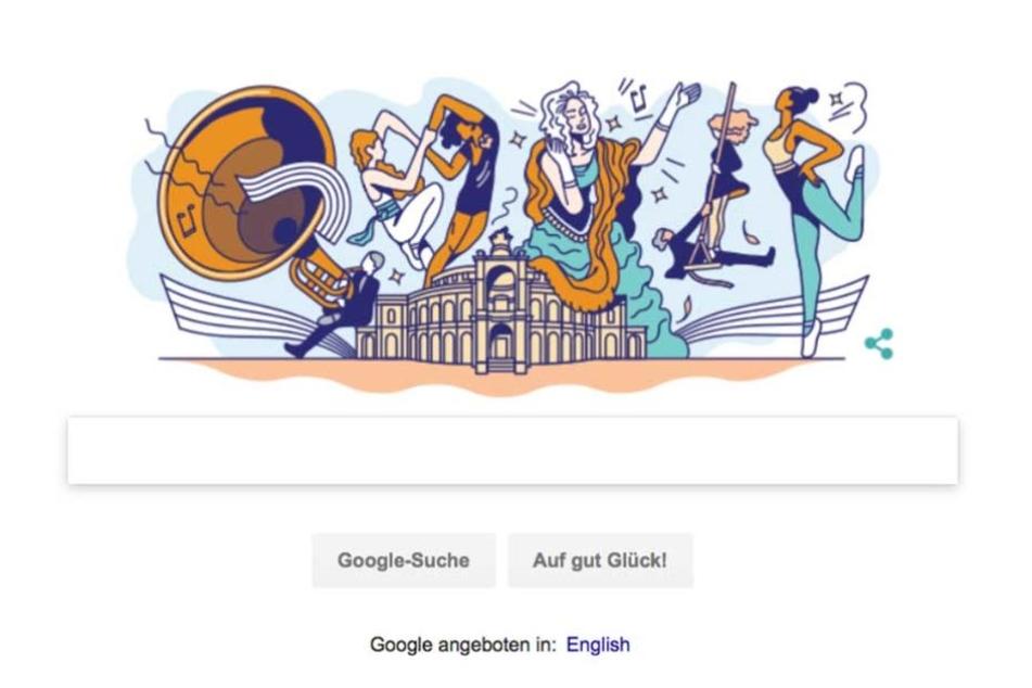 Bei Google ist am 13. April 2018 die Semperoper zu sehen. Aus gutem Grund.
