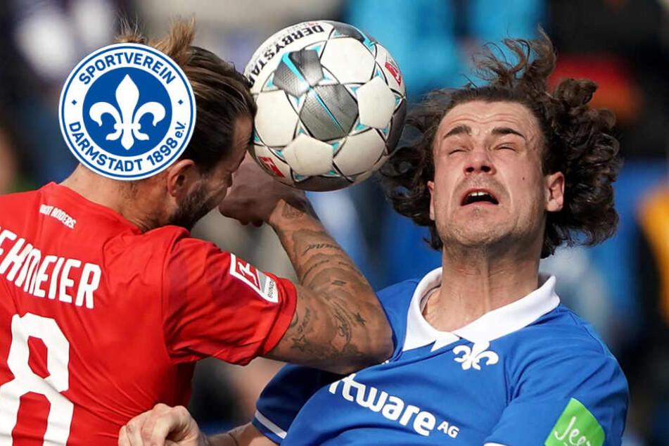 Darmstadts Mittelfeldspieler Stark erleidet Nasenbeinbruch und bekommt Spezialmaske