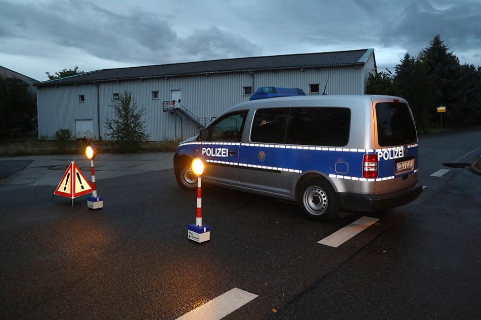 SEK-Einsatz in Sachsen: Mann (43) schießt auf Polizei und entkommt