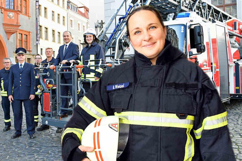 Anja ist jetzt Feuerwehrchefin von Görlitz