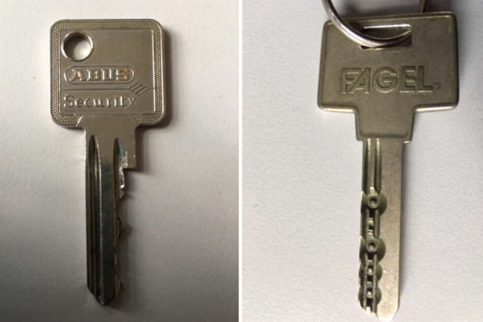 Außer diesen beiden Schlüsseln hatte der verunglückte Jogger im Volkspark Wilmersdorf nichts bei sich.