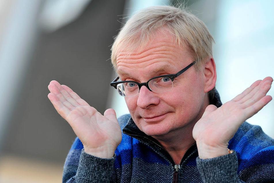 Weil Kabarettist Uwe Steimle (54) als Schirmherr der FriedensDekade abgesetzt wurde, fordert eine Petition eine Entschuldigung.