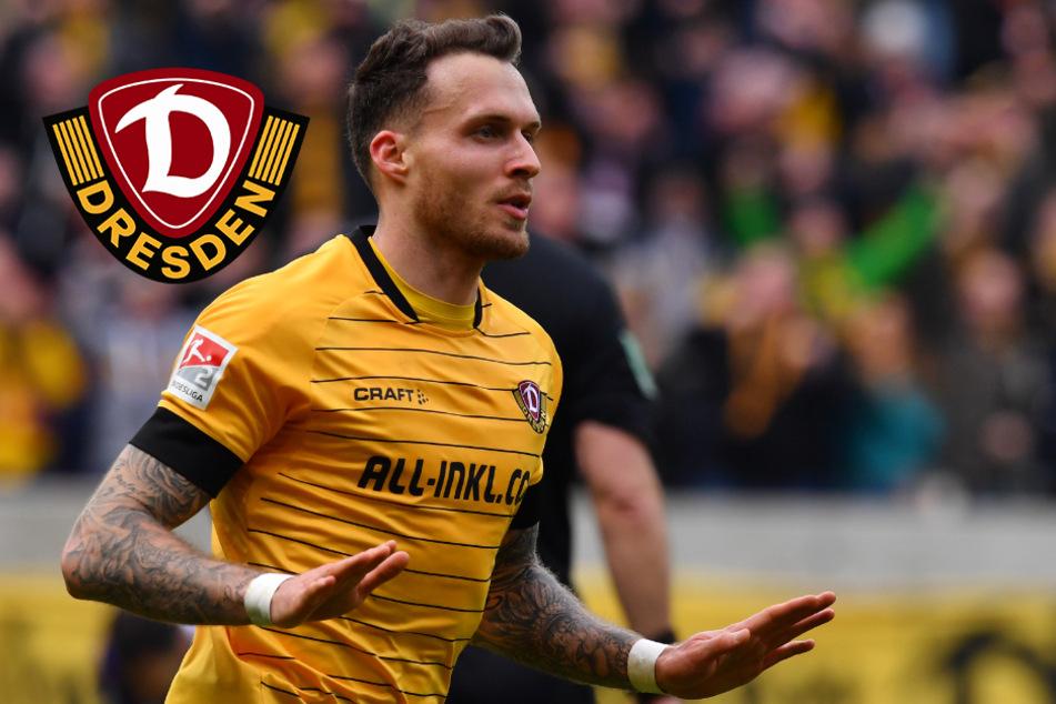 Dynamo-Traumtor: Patrick Schmidts Fallrückzieher gewinnt