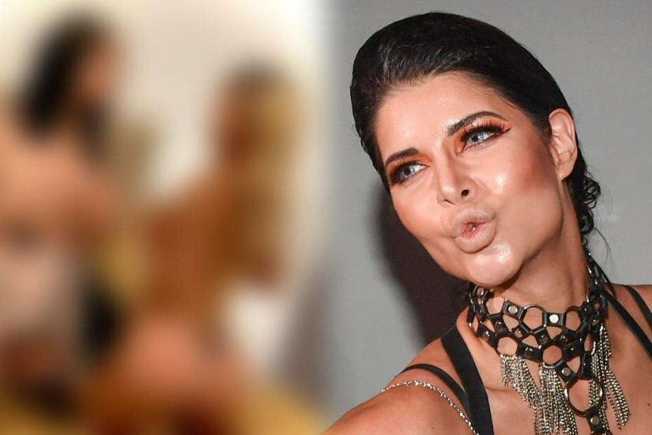 Erotik-Queen Micaela Schäfer (37) wirbt bei Instagram auf ganz spezielle Art für den Sieg von Kollegin Djamila Rowe bei der Dschungel-Show.
