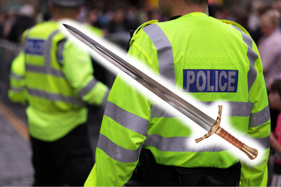 Massenschlägerei mit Schwertern: Polizei muss irren Kampf auflösen