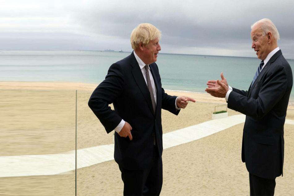 """Johnson hails Biden as a """"breath of fresh air"""" after first meeting"""