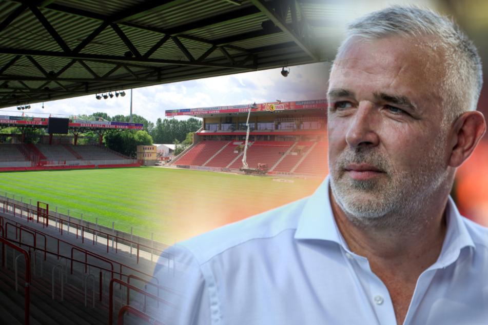Union Boss Dirk Zingler plant fest mit Zuschauern in der neuen Saison.