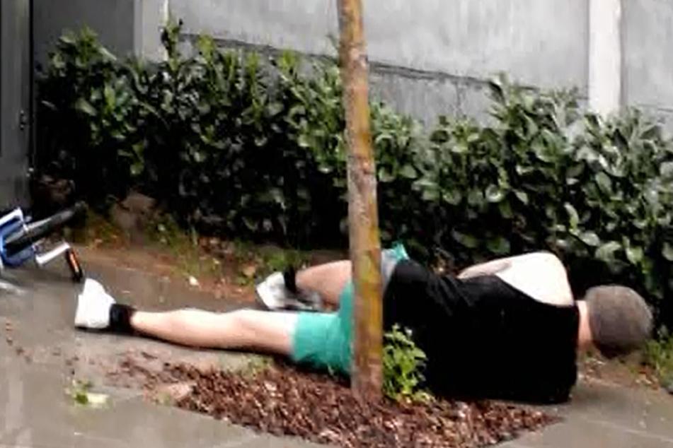 Auch Pat (30) landet am Boden - was für ein Tag!
