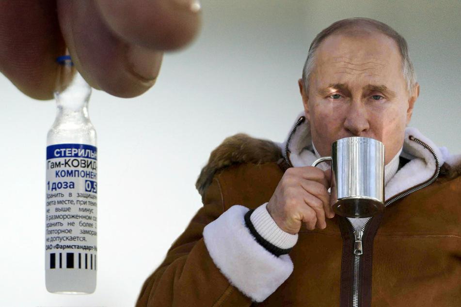 Worauf wartet er denn? Putin will sich seit Monaten nicht gegen Corona impfen lassen!