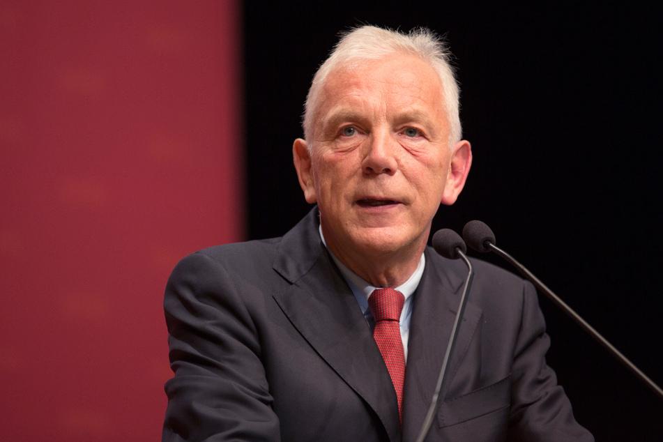 Heilbronns Oberbürgermeister Harry Mergel (65, SPD).