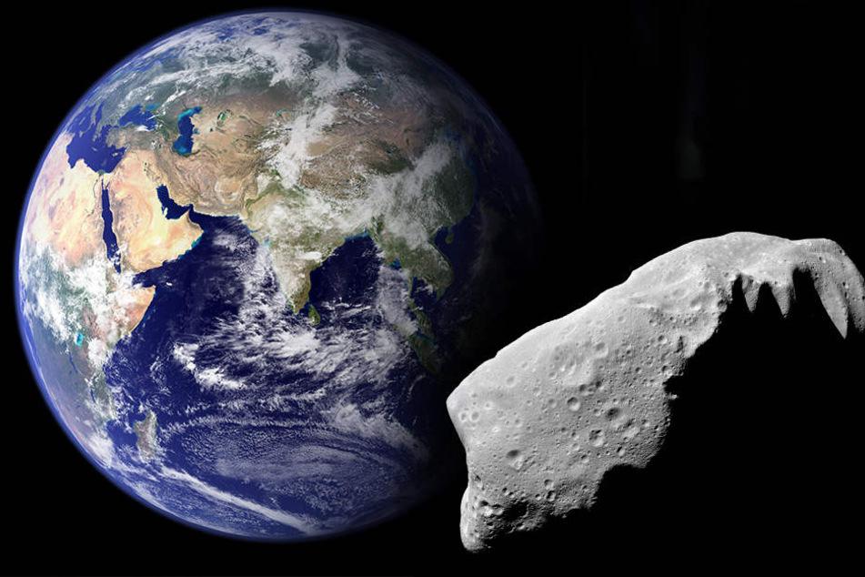 Gigantischer Weltraum-Felsen steuert heute auf die Erde zu