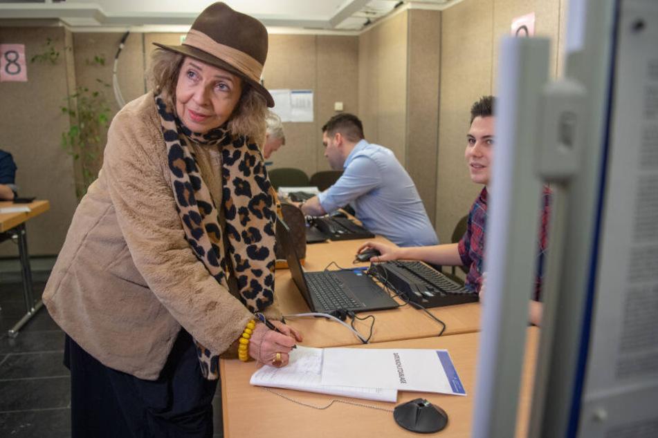 Schauspielerin Michaela May setzt sich für das Volksbegehren in Bayern ein.