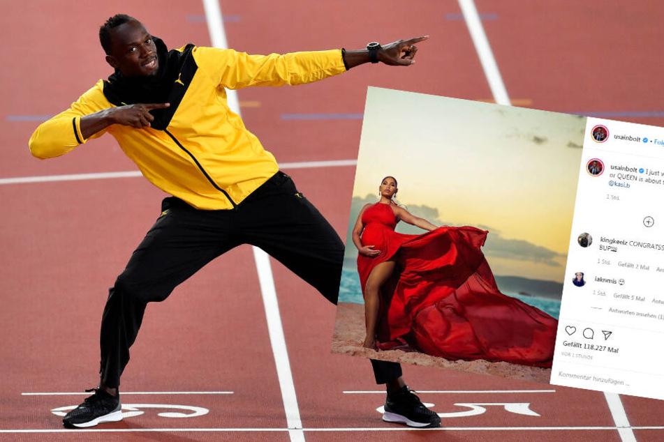 Er schrieb Leichtathletik-Geschichte: Turbo-Sprinter Usain Bolt wird Papa!
