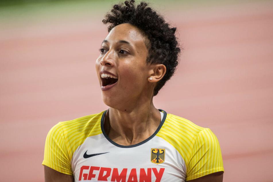 Malaika Mihambo holte Gold für Deutschland!