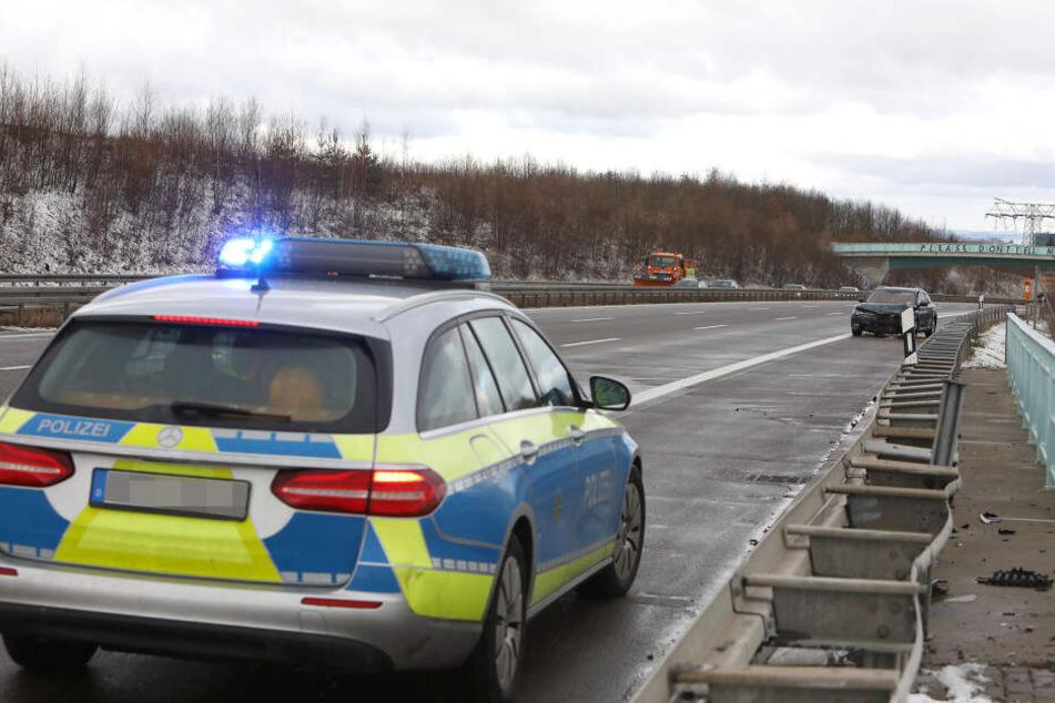 Nach dem Unfall kam es nur zu geringen Behinderungen auf der A4.