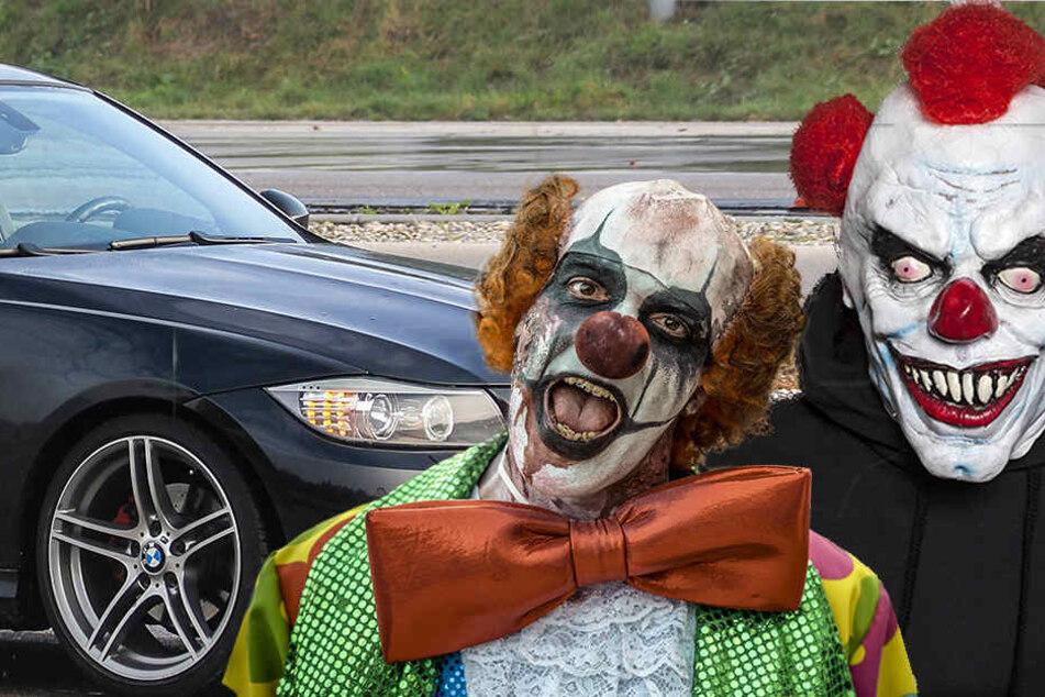 Gegen die beiden jungen Horror-Clowns ermittelt jetzt die Polizei.