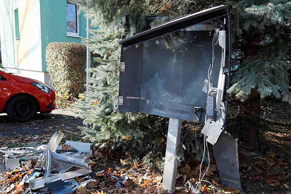 Wie hoch der Schaden am Automat ist, ist noch nicht bekannt. (Archivfoto)