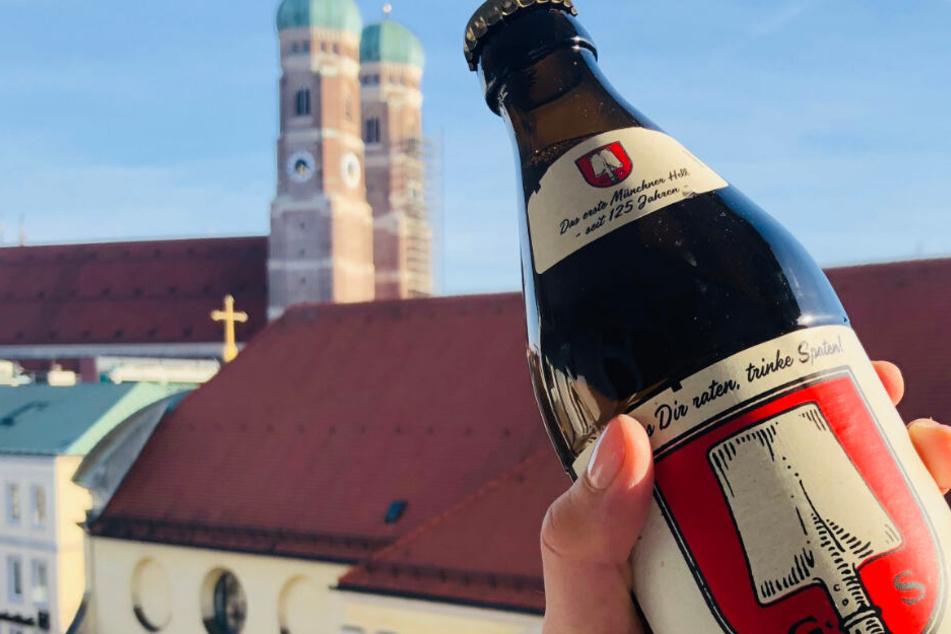 Das Münchner Hell ist genau so Wahrzeichen der Stadt, wie die Frauenkirche.