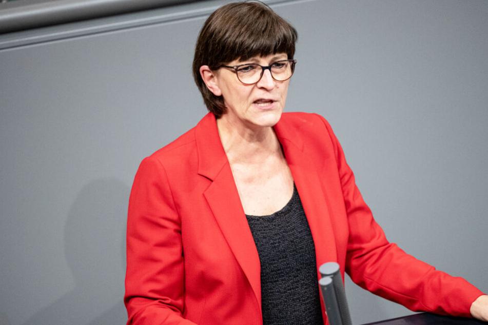 Saskia Esken wird zum Auftakt am Dienstag im bayerischen Landtag erwartet.