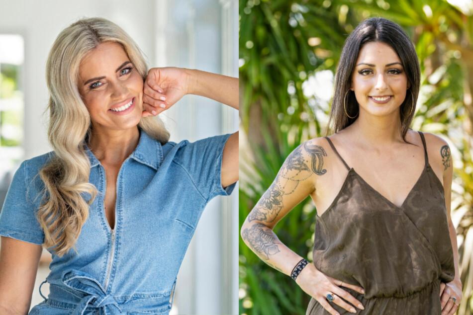 Aline (33, Model & Event-Hostess aus Köln, l.) und Ivana (28, Krankenschwester aus Baden in der Schweiz).