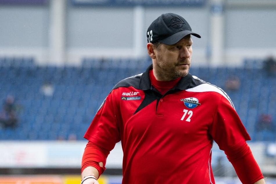 Steffen Baumgart möchte mit dem SCP auch ins Halbfinale kommen.