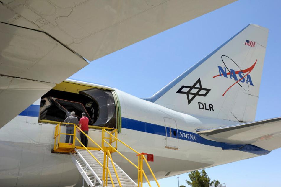 Das Teleskop in der Boeing 747 hat einen Durchmesser von 2,5 Metern. (Archiv)