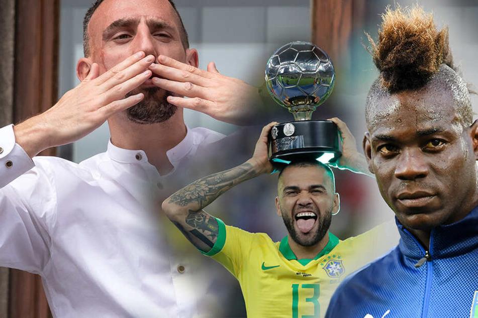 Von Ribery bis Balotelli: Diese internationalen Top-Stars sind noch ohne Klub!