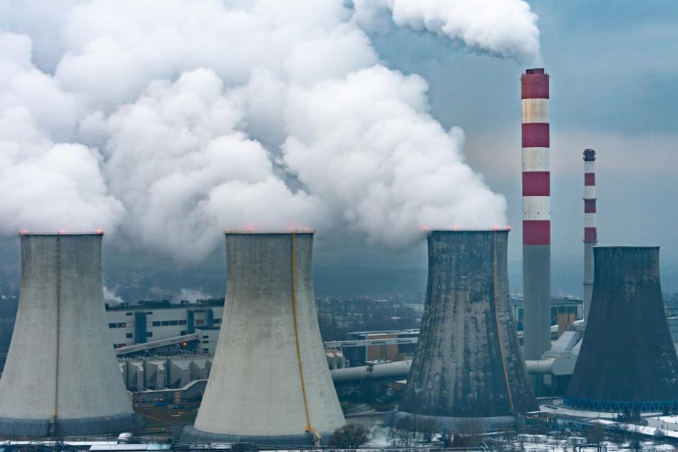 Ein Kohlekraftwerk in Laziska bei Kattowitz. In der südpolnischen Stadt findet der UN-Klimagipfel statt.