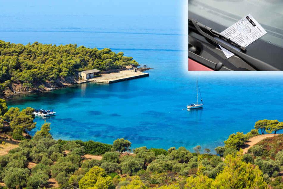 Im Urlaubs-Paradies gefangen: Polizei kassiert Auto von Touristin ein!