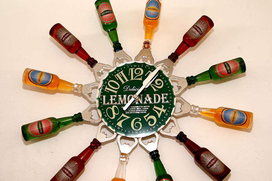 Die Botschaft ist klar: Für ein Bierchen ist es nie zu früh.