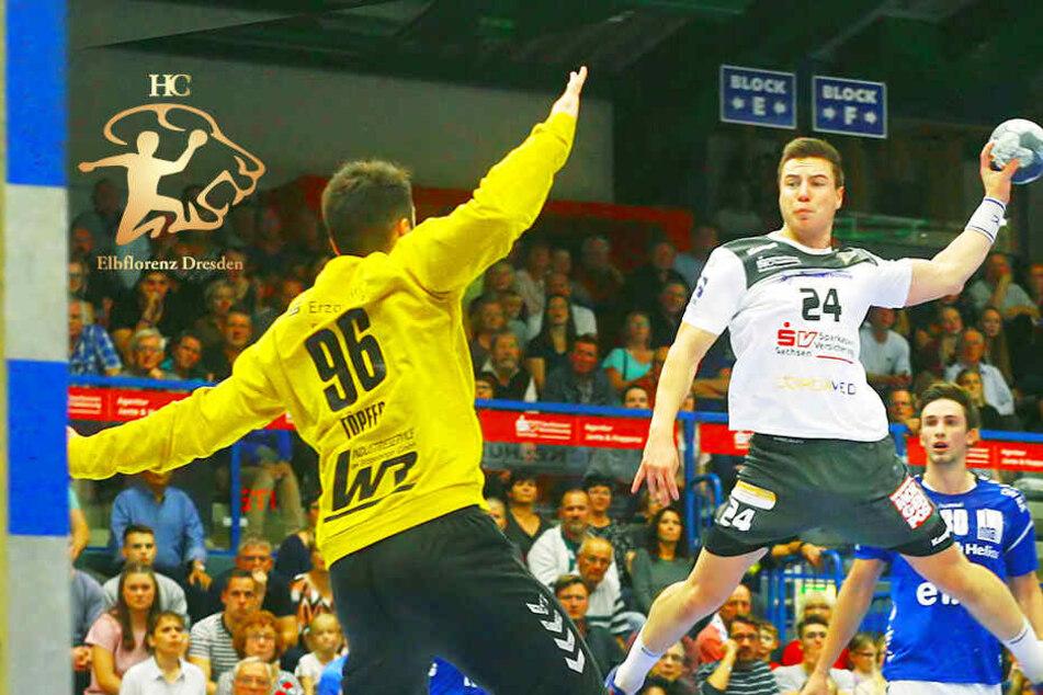 HC Elbflorenz verliert Derby gegen EHV Aue!