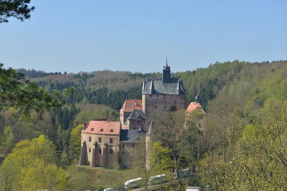"""Ab 10 Uhr gibt es """"Ferienspaß für Königskinder auf Burg Kriebstein."""