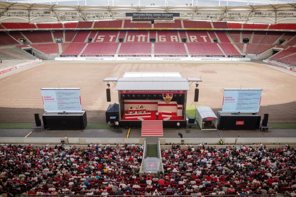 Juli 2019: Bei dieser Mitgliederversammlung des VfB Stuttgart wurde es hitzig.