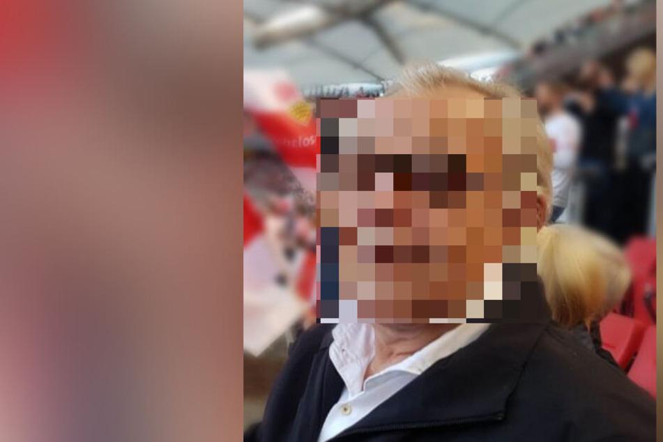 VfB-Fan (62) wird vermisst: Polizei bittet um Hilfe